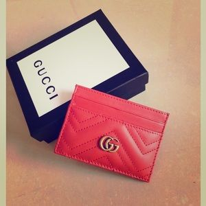 Fire Red Wallet